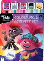Trolls World Tour Colouring & Activity Set