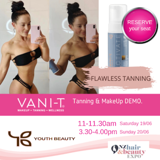 EXPO SPECIAL 2021 -Vani-T -Spray Tan Special - Buy any 1L Spray Tan Solution and receive a 100ml Spray Tan Solution FREE