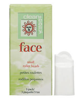 Clean & Easy Face Replacement Roller Heads - 3pk