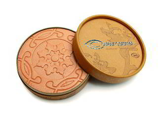 Couleur Caramel Pearly Orange Brown Powder Bronzer