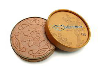 Couleur Caramel Pearly Beige Brown Powder Bronzer