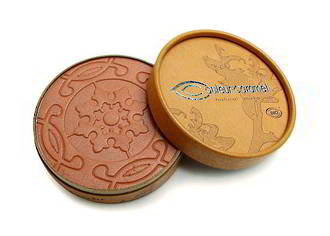 Couleur Caramel Pearly Red Brown Powder Bronzer