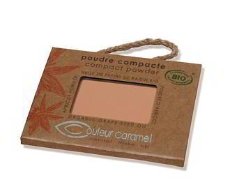 Couleur Caramel Orange Beige Compact Powder