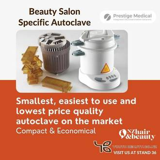 EXPO SPECIAL 2021 - Prestige Medical Classic 9L  Beauty Clinic specific Autoclave - FREE box of indicator strips - SAVE $56