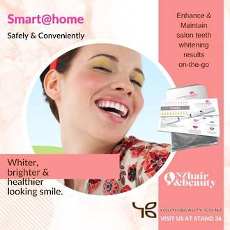 EXPO SPECIAL 2021 -COSMETIC BRIGHT SMART @HOME Teeth Whitening System - BUY 12 GET 6 FREE