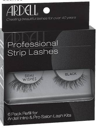 Ardell Invisibands Demi Wispies Black 6 Pack Refill