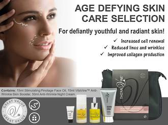 Age Defying Theravine RETAIL Skincare Selection Pack