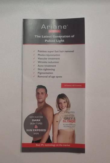 Ariane Brochures x50