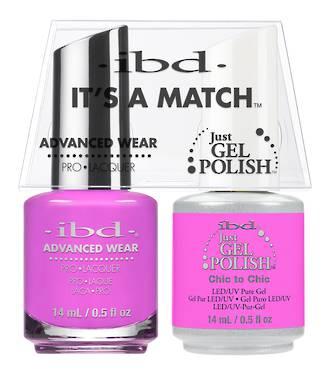 IBD Duo Polish Chic to Chic