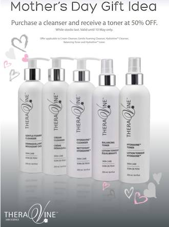 Mother's Day-  Cream Cleanser + receive a Hydravine Toner
