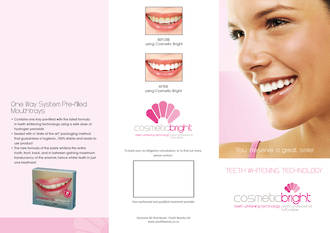 Cosmetic Bright Brochures - One way System - pack of 50