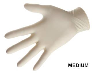 Latex Gloves Medium