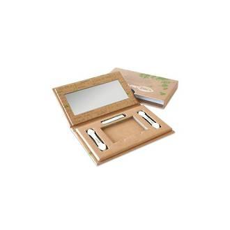 Couleur Caramel Empty Duo Box (2 Eye Shadows)