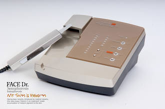 FaceDR- Sonophoresis & Iontophoresis in one hand unit