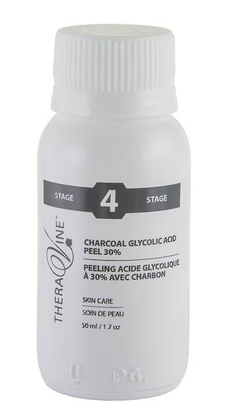 Theravine Professional Charcoal Glycolic Acid Peel 30% 50ml
