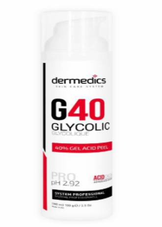 Glycolic Peel in gel 40% | 100ml