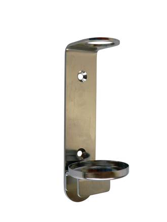 Wall Mount Bracket Stainless Steel - 300ml Bottles