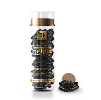 Brow Code Henna Capsules Light Brown 125mg x 50