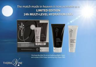 Limited Edition Theravine 24h Multi-Level Hydration Duo