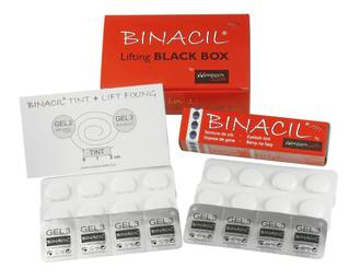 Wimpernwelle & Binacil Lifting Box  Gel3 = Blue Black