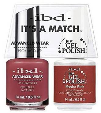 IBD Duo Polish Mocha Pink