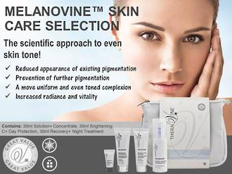 Theravine RETAIL Melanovine Skin Care Selection