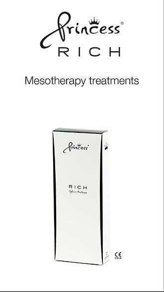 Princess Poster A4 Mesotherapy