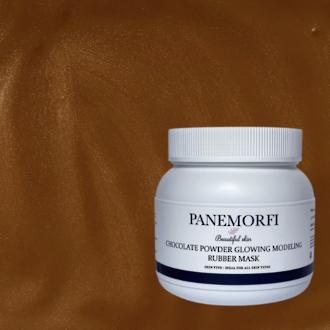 PANEMORFI Chocolate powder glowing rubber mask 500g