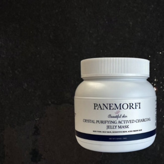 PANEMORFI Crystal purifying activated charcoal hydra jelly mask 500g