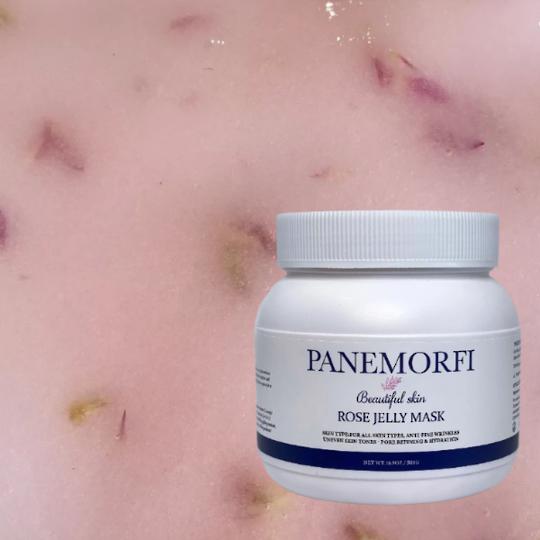 PANEMORFI Rose petal hydra jelly mask 500g
