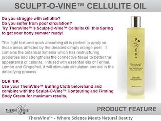 Theravine Professional Sculpt-o-Vine Cellulite Oil 200ml