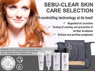 Theravine RETAIL Sebu-Clear Skin Care Selection