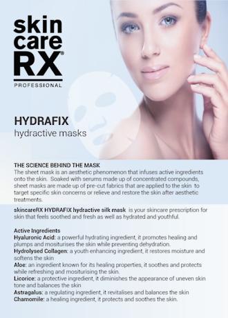 HYDRAFIX hydractive silk MASK (5pk)