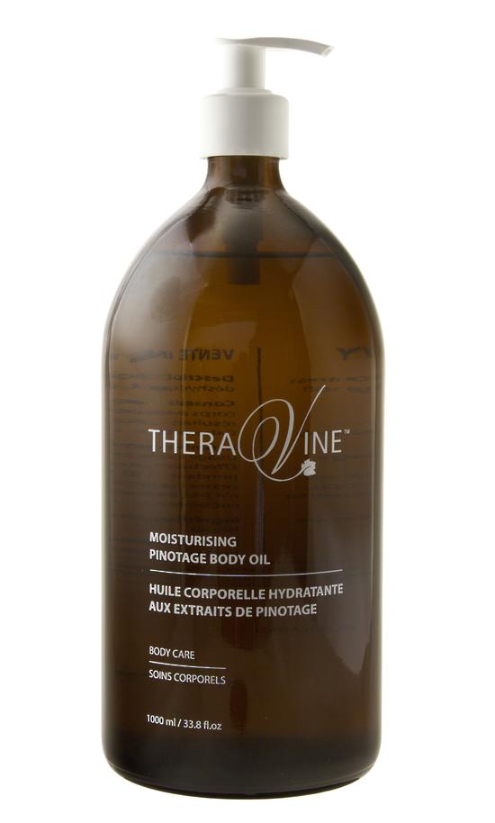 Theravine Professional Moisturising Pinotage Massage Oil 1000ml