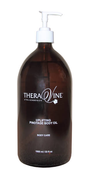 Theravine Professional Uplifting Pinotage Body Oil 1000ml