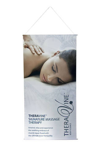 Theravine Body Drop Banner - Theravine Signature Massage