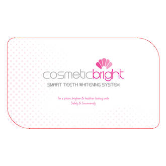 Cosmetic Bright SMART @Home teeth whitening system