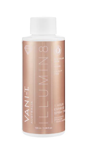 VANI-T Illumin8 Dry Oil Express Spray Tan Solution - 100ml