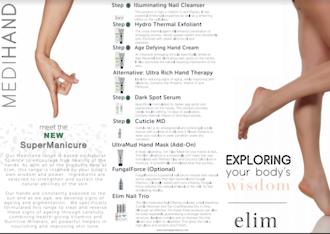 Elim - MediHeel/MediHand DL Brochure X 10pk