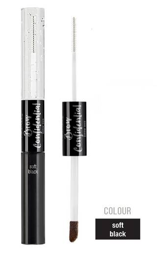 Ardell Confidential Brow Duo Soft Black