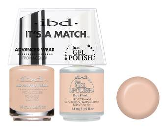 IBD Duo Polish But First Just Gel Duo Pack