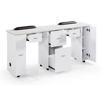 Manicure Table - Double Station