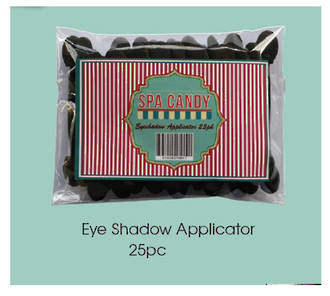 Spa Candy - EYE SHADOW APPLICATORS 25PC