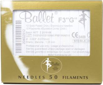 F3 Gold Electrolysis Needles