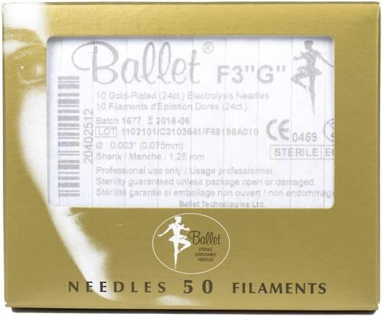 F3 Gold Electrolysis Needles