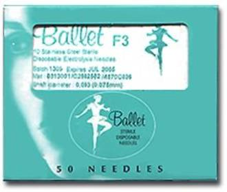 10pk F5 Stainless Steel Needles