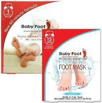 Baby Foot Exfoliant & Hydrating pack