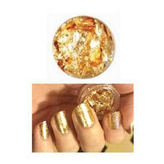 Crumbled Foil - Golden