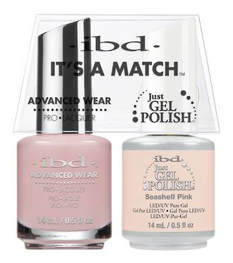 IBD Duo Polish Seashell Pink
