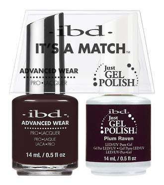 IBD Duo Polish Plum Raven